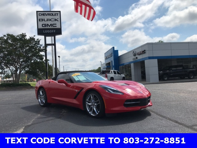 Pre-Owned 2018 Chevrolet Corvette Stingray