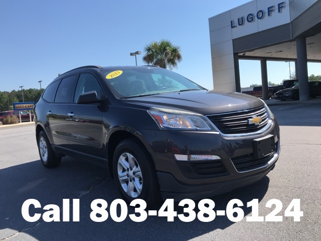 Pre Owned 2013 Chevrolet Traverse Ls 4d Sport Utility In Lugoff