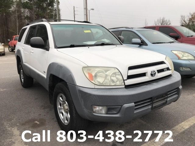 PreOwned Toyota Runner SR D Sport Utility In Lugoff - 2003 4runner