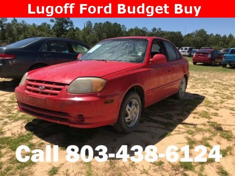 Pre-Owned 2003 Hyundai Accent GL